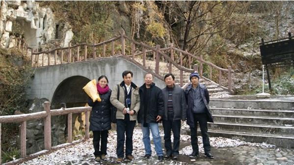 调研甘肃康县旅游产业
