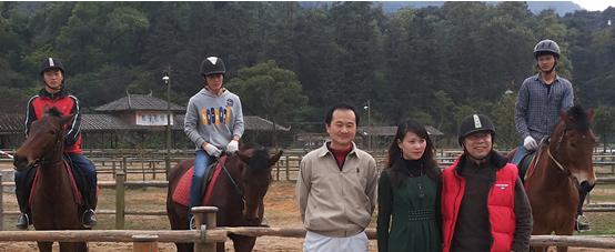 仵博儒先生应邀实地调研广州知名主题式休闲旅游景点:御盛马场