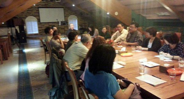 浙江大学教授米红先生携台湾学者访问尚特梅斯庄园