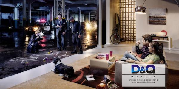 中国娱乐电视第一品牌D&Q新形象闪亮登场