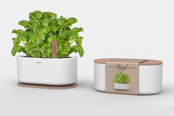 包装设计-阳台上的菜园
