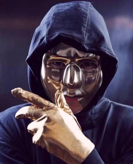 嘻哈大师级面具男rapper