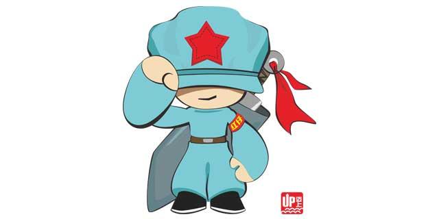 红军漫画简笔画