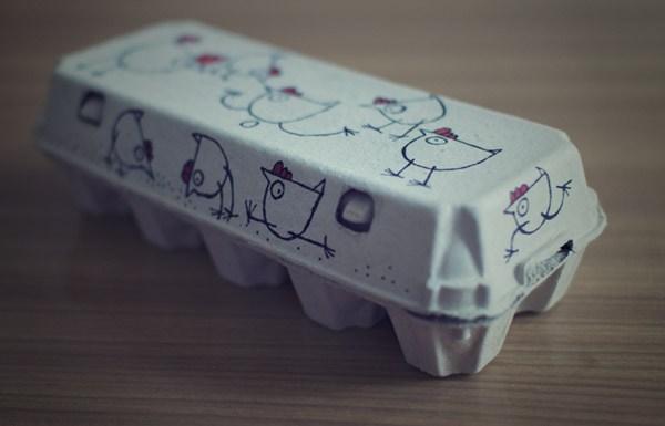 鸡蛋包装盒设计
